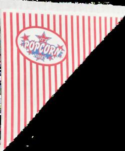 Popcornzakjes 21 cm - 500 stuks